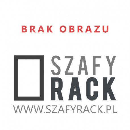 Szyna montażowa do szaf Rack 19'' 450mm (27,5cm)