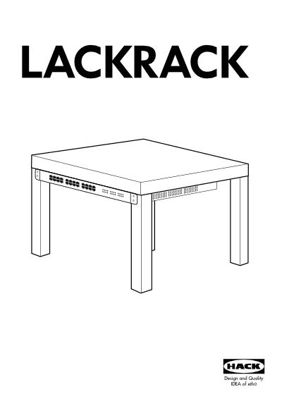 LackRack - instrukcja obsługi