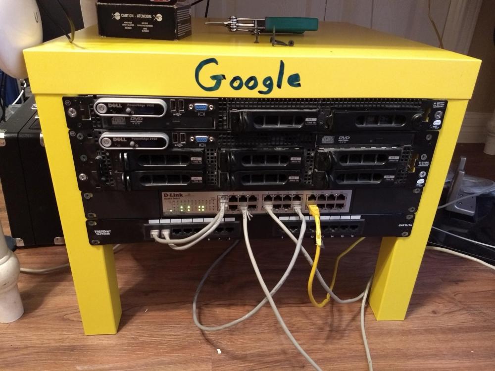 LackRack - Serwerownia Wzorowana na Google Data Center ;)