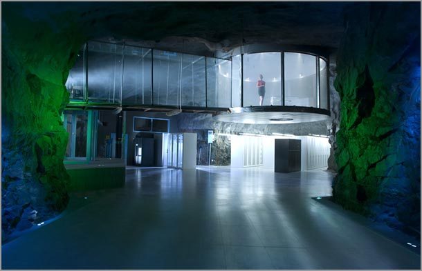 Niesamowita – Serwerownia W Schronie Atomowym