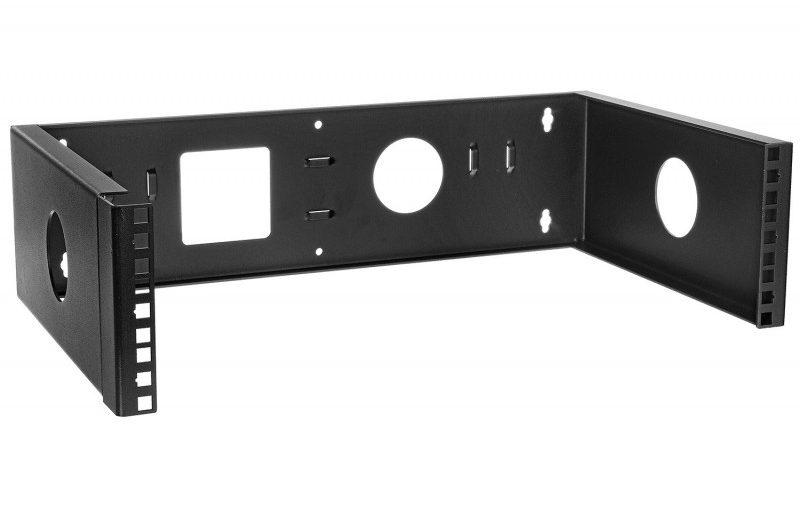 Montaż urządzeń RACK 19 cali na ścianie – Uchwyty RACK