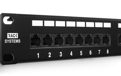 Patch panel 24-porty