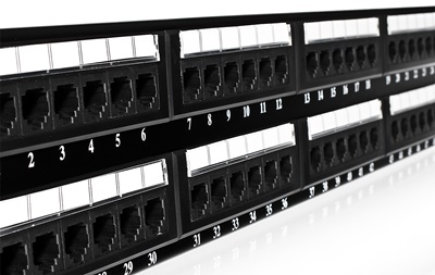 Patch panel 48-portów UTP6